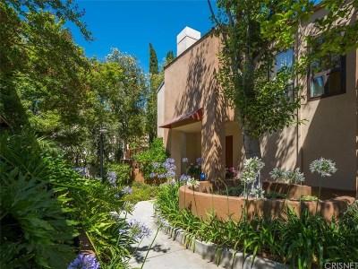 Calabasas Condo/Townhouse Sold: 4275 Las Virgenes Road #5