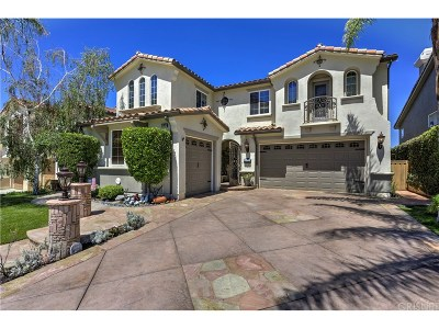 Canyon Country Single Family Home For Sale: 17827 Wren Drive