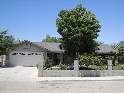 Palmdale Single Family Home For Sale: 5011 Knight Way