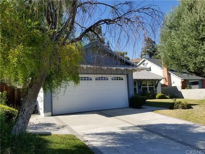 Canyon Country Single Family Home For Sale: 16807 Bainbury Street