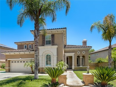 Saugus Single Family Home For Sale: 29146 Valley Oak Place