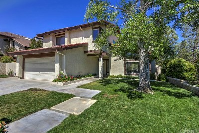 Canyon Country Single Family Home For Sale: 28024 Valcour Drive