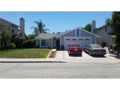 Castaic Single Family Home For Sale: 27826 Beacon Street
