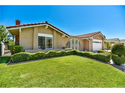 Simi Valley Single Family Home For Sale: 3168 Meadowstone Drive