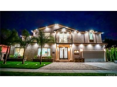 Valley Village Single Family Home For Sale: 5328 Alcove Avenue