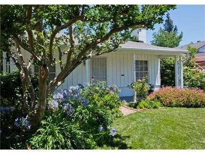Single Family Home For Sale: 15239 La Maida Street