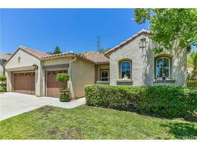 Saugus Single Family Home For Sale: 21751 Redwood Canyon Place