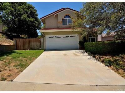 Saugus Single Family Home For Sale: 28551 Tamarack Lane