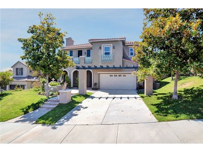 Stevenson Ranch Single Family Home For Sale: 25747 Hawthorne Place