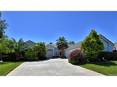 Palmdale Single Family Home For Sale: 41161 Summitview Lane