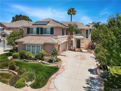 Stevenson Ranch Single Family Home For Sale: 26070 Bates Place