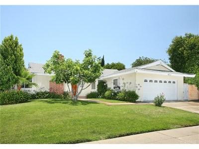 Woodland Hills Single Family Home For Sale: 23820 Calvert Street