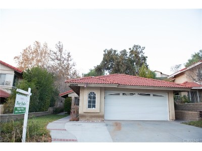 Canyon Country Single Family Home For Sale: 28029 Wildwind Road