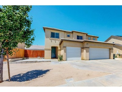 Rosamond Single Family Home For Sale: 3401 Gemstone Avenue