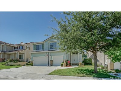 Stevenson Ranch Single Family Home For Sale: 25723 Hood Way