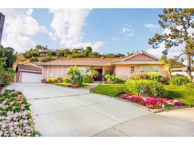 Studio City Single Family Home For Sale: 3167 Dona Conchita Place