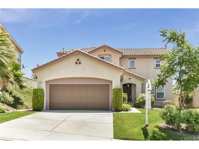 Castaic Single Family Home For Sale: 29732 Castlebury Place
