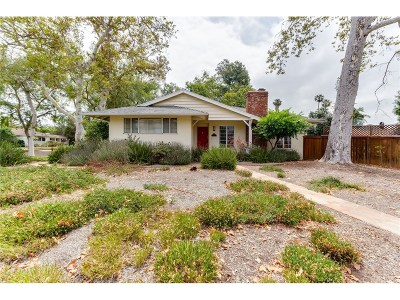 Valley Village Single Family Home For Sale: 4718 Saint Clair Avenue