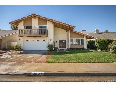 Valencia Single Family Home For Sale: 23504 Via Amado