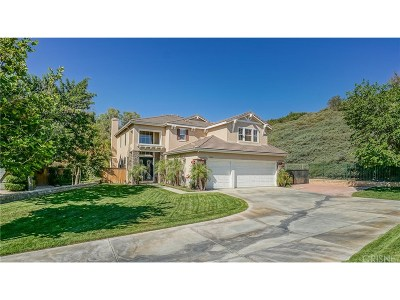 Canyon Country Single Family Home For Sale: 18320 Avocet Court