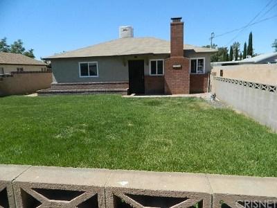 Lancaster Single Family Home For Sale: 4805 West Avenue L4