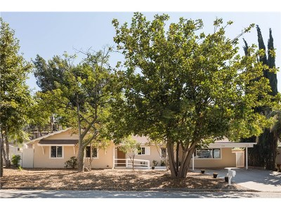 Simi Valley Single Family Home For Sale: 1543 Elvado Drive