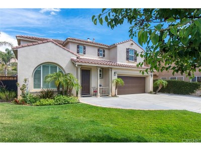 Saugus Single Family Home For Sale: 21813 Carol Court