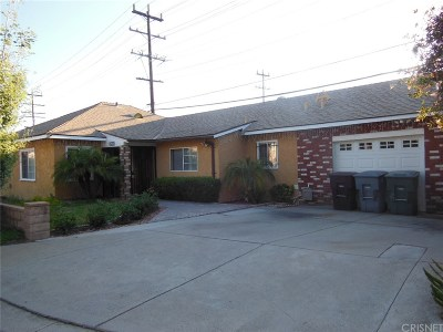 Glendale Single Family Home For Sale: 1639 The Midway Street