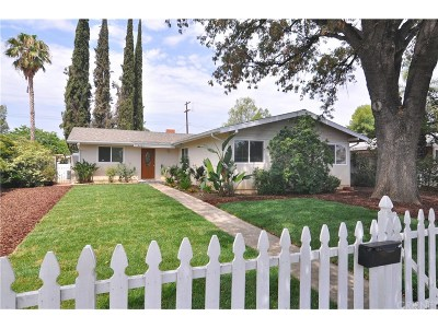 West Hills Single Family Home For Sale: 8225 Fallbrook Avenue