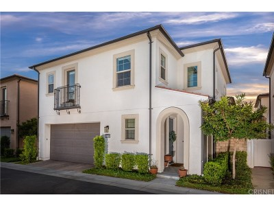 Saugus Single Family Home For Sale: 22083 Propello Drive