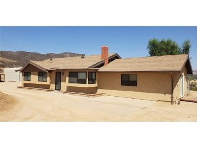 Agua Dulce Single Family Home For Sale: 35102 Johnson Road