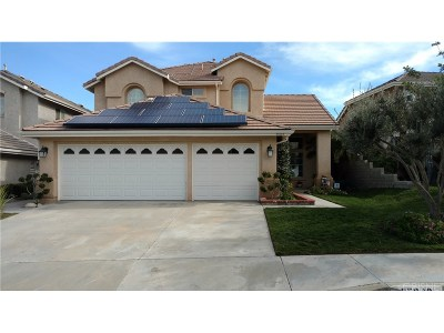 Stevenson Ranch Single Family Home For Sale: 25648 Frost Lane
