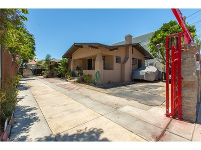 Los Angeles Single Family Home For Sale: 842 West 42nd Place