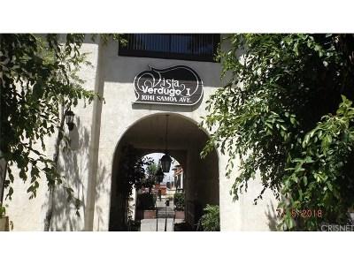Tujunga Condo/Townhouse For Sale: 10141 Samoa Avenue #5