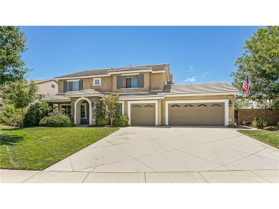 Palmdale Single Family Home For Sale: 36509 Palio Court