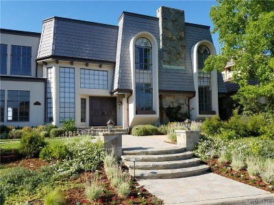 Los Angeles County Single Family Home For Sale: 3485 Ridgeford Drive