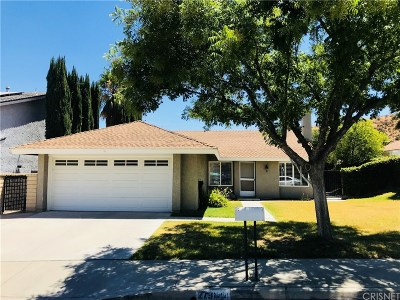 Saugus Single Family Home For Sale: 27944 Oregano Circle
