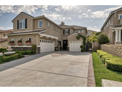 Stevenson Ranch Single Family Home For Sale: 25927 Voltaire Place