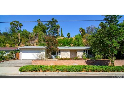 Woodland Hills Single Family Home For Sale: 5800 Serrania Avenue