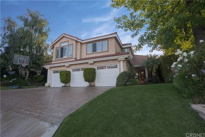 Simi Valley Single Family Home For Sale: 319 Hornblend Court