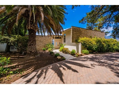 Calabasas Single Family Home Sold: 26094 Mulholland