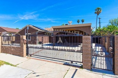 North Hollywood Single Family Home For Sale: 7752 Bellaire Avenue