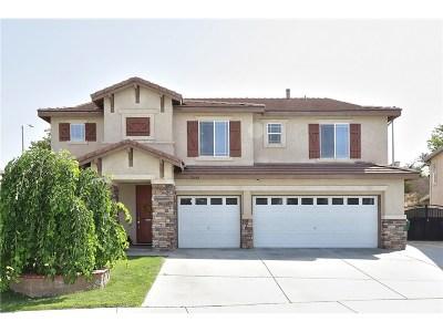 Palmdale Single Family Home For Sale: 3644 Parkridge Lane