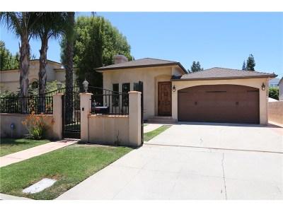 Single Family Home For Sale: 15118 La Maida Street