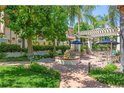 Woodland Hills Condo/Townhouse For Sale: 22271 Erwin Street