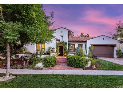 Calabasas CA Single Family Home For Sale: $2,699,000