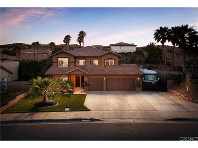 Palmdale Single Family Home For Sale: 4324 Grandview Drive
