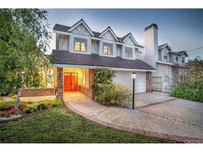 Studio City Single Family Home For Sale: 12807 Milbank Street