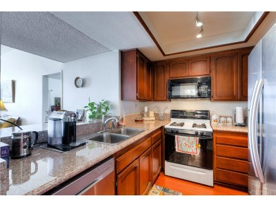 Canoga Park Condo/Townhouse For Sale: 7800 Topanga Canyon Boulevard #206