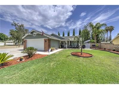 Saugus Single Family Home For Sale: 27848 Santa Clarita Road